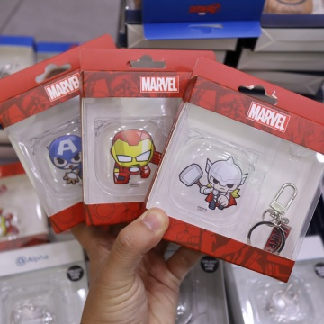 Case Galaxy Buds Live trong suốt Marvel (Korea)